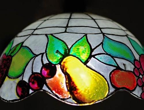 A Tiffany-lámpa tisztítása