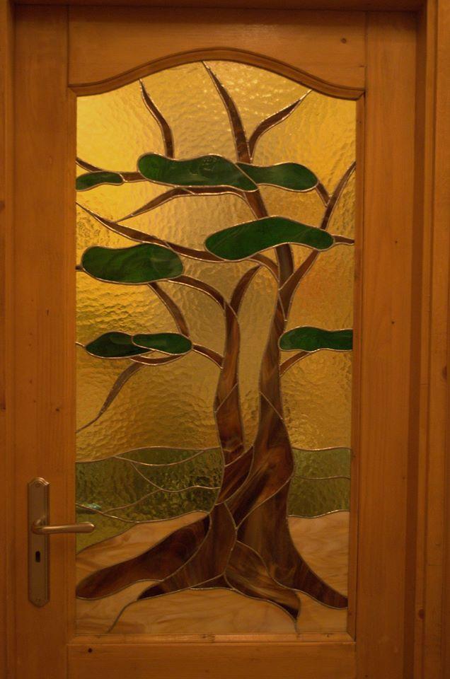 Beltéri ajtóüveg