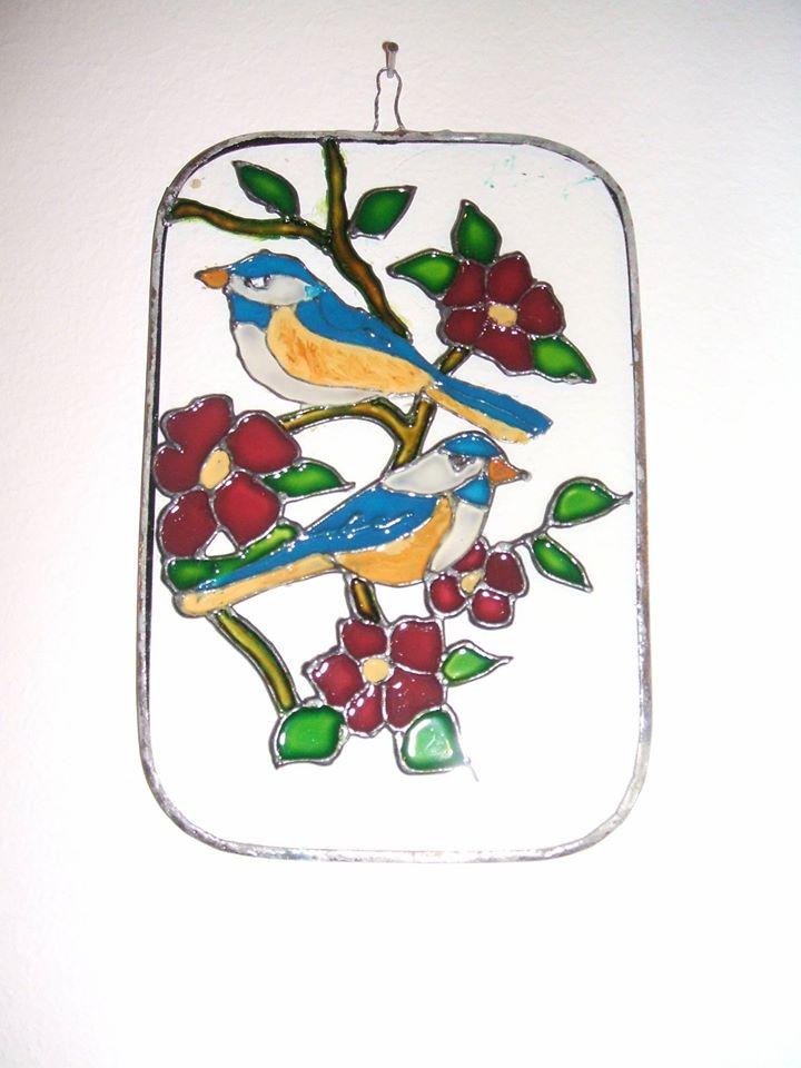 Festett madarak