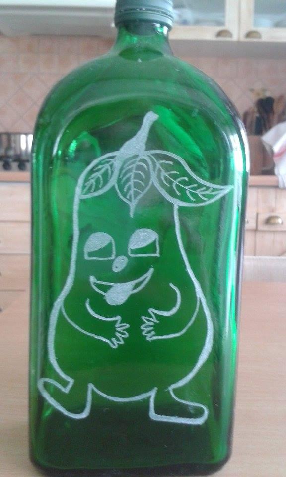 Gravírozott üveg
