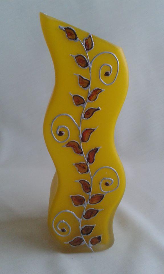 Sárgaleveles váza